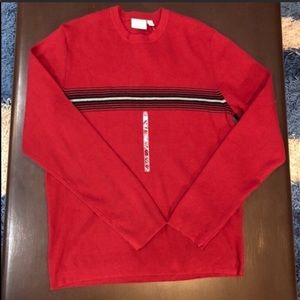 Sonoma Red Crew Neck Sweater Size Small NWT